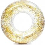 Swim Ring - Plasti Intex Transparent Glitter Tubes