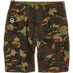 Men's Clothing Superdry Parachute Cargo Shorts - Olive Alpine Camo