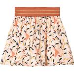 Girl - Pleated Skirts Children's Clothing Blune Champ Libre Printed Skirt - Abricot (304725)