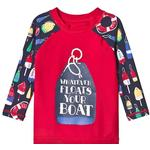 UV Shirt - 24-36M Children's Clothing Hatley Distressed Buoys Long Sleeve Rashguard - Red (S19DBK812)