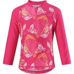 Print - UV Shirt Children's Clothing Reima Tuvalu Swim Shirt - Candy Pink (516445-4414)