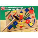 Hammer Nail Mosaic - Metal EDCO Hammer & Nails Tap Art Set