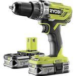 Ryobi cordless drill Drills & Screwdrivers Ryobi R18PD3-215S (2x2.5Ah)