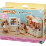 Dollhouse Accessories - Plasti Sylvanian Families Kitchen Play Set