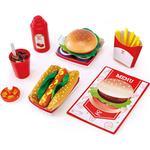 Food Toys - Fabric Hape Fast Food Set