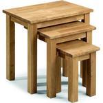 Julian Bowen Coxmoor 50cm Nesting Tables