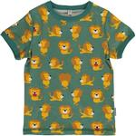 T-shirts - 134/140 Children's Clothing Maxomorra Top SS - Lion