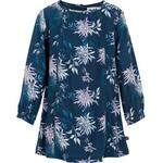 Everyday Dresses - Buttons Children's Clothing Minymo Dress - Blue Nights (120899-7840)