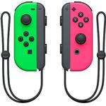Nintendo Switch Game Controllers Nintendo Switch Joy-Con Pair - Green/Pink