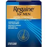 Regaine for Men Extra Strength 3x60ml 3pcs