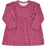 Ruffled Dresses - Long sleeve Children's Clothing Minymo Dress - Rose Wine (111101-4849)