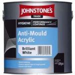 Mould paint Paint Johnstone's Trade Anti-Mould Acrylic Wall Paint, Ceiling Paint White 5L