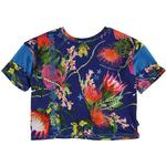 Tops - Elastan Children's Clothing Molo Odessa - Wild Flowers (2W19A235 6039)