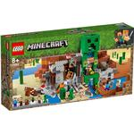 Lego Minecraft Lego Minecraft The Creeper Mine 21155