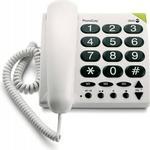 Landline Phones Doro PhoneEasy 311c White