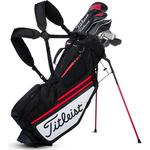 Golf Bags - Silver Titleist Hybrid 5 Stand Bag