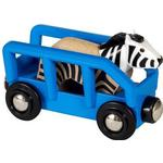 Toy Vehicle Accessories - FSC Brio Zebra & Wagon 33967