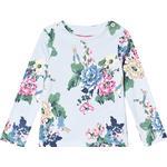 Tops - 24-36M Children's Clothing Joules Harbour Print Jersey Top - Light Blue Rabbit Floral (205999)