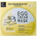 Sheet Mask - Niacinamide Too Cool For School Egg Cream Mask Hydration 5-pack
