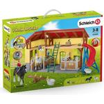 Play Set - Cats Schleich Horse Stable 42485