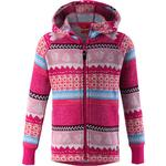 Print - Hoodies Children's Clothing Reima Northern Fleece Sweater - Raspberry Pink (536461-4656)