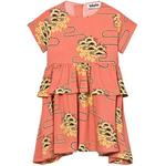 Ruffled Dresses - 110/116 Children's Clothing Molo Caitlin - Nouveau Clouds (2S17E119 4571)