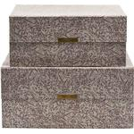 Storage Boxes House Doctor Floral 30.5cm 2-pack Storage box