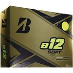 Golf ball - Green Bridgestone E12 Soft (12 pack)