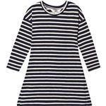 Everyday Dresses - Stripes Children's Clothing ebbe Kids Melissa Dress - Navy/Sand (505207)
