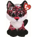 Soft Toys - Fox TY Flippables Jewel Reversible Sequin Fox 15cm
