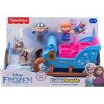 Play Set Fisher Price Little People Disney Frozen Kristoff's Sleigh