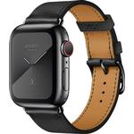 Apple Watch Hermès Series 5 Cellular 44mm Stainless Steel Case with Single Tour