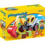 Construction Site - Excavator Playmobil 1.2.3 Shovel Excavator 70125