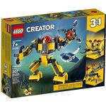 Plasti - Lego Creator 3-in-1 Lego Creator Underwater Robot 31090