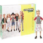 Doll Clothes Mattel Creatable World Deluxe Character Kit Customizable Doll Blonde Wavy Hair GGT67