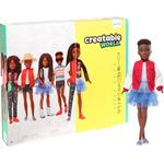Doll Clothes on sale Mattel Creatable World Deluxe Character Kit Customizable Doll Black Braided Hair GGG55