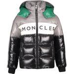 Polyamid - Down Jacket Children's Clothing Moncler Febrege - Grey