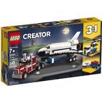 Plasti - Lego Creator 3-in-1 Lego Creator Shuttle Transporter 31091