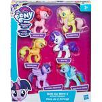 Figurines Hasbro My Little Pony Meet the Mane 6 Ponies Collection