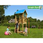 Playground - Playhouse Tower Jungle Gym Jungle Castle Fireman's Pole
