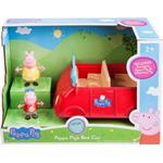 Plasti - Car Jazwares Peppa Pig's Red Car