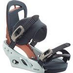 Snowboard Bindings - White Burton Scribe Re:flex