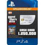 Redeem Cards - Sony Playstation 4 Rockstar Games Grand Theft Auto Online - Great White Shark Cash Card - PS4