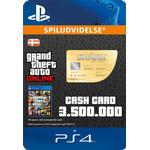 Rockstar Games Grand Theft Auto Online - Whale Shark Cash Card - PS4