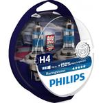 Halogen Lamps - Vehicle Lamps Philips H4 RacingVision Halogen Lamps 55W P43t-38 2-pack