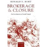 Brokerage and Closure (Hardcover, 2005)
