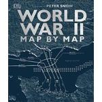 Historia & Arkeologi Books World War II Map by Map (Hardcover, 2019)