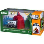 Toy Train - Plasti Brio Smart Engine Set with Action Tunnels 33834