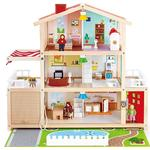 Doll House - Wood Hape Doll Family Mansion