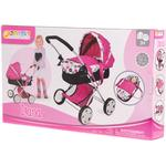 Doll Pram - Plasti Hauck Diana Puppet Trolley with Accessories